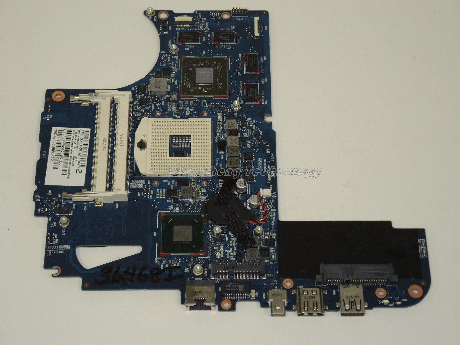 45 tage garantie laptop motherboard für hp envy14 654173-001 für intel hm65...