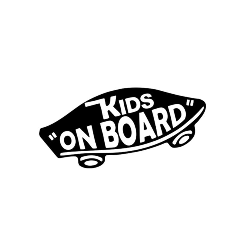 Internal Kids On Board Baby On Board Vans Off The Wall