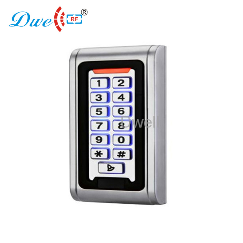 rfid proximity card door access control system keypad reader with low frequency waterproof touch keypad card reader for rfid access control system card reader with wg26 for home security f1688a