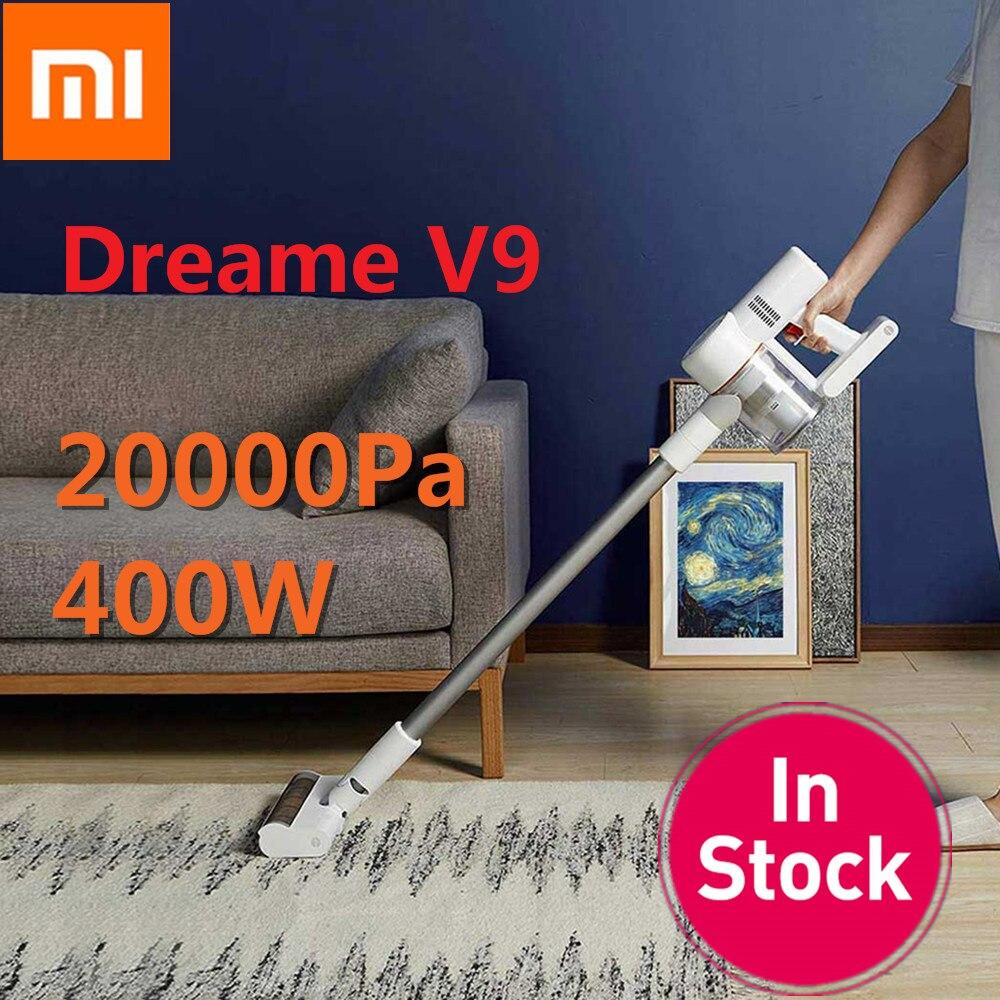 Xiaomi Dreame V9 V9P Aspirador de pó Portátil Sem Fio Vara Aspirador Aspiradores 20000 Pa Para O Carro Em Casa a partir de Xiaomi Youpin