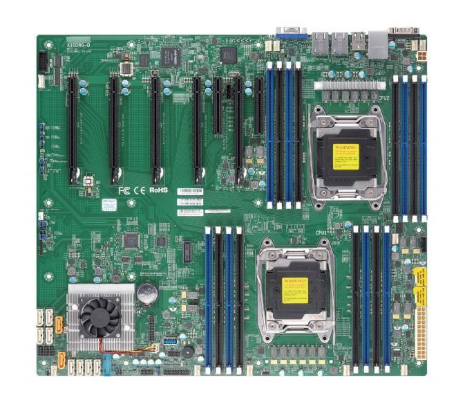 OEM X10DRG-Q Dual Workstation Motherboard 2011 Quad GPU Server 1080Ti Graphics