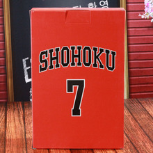 Buen PVC conjunto completo Shohoku Slamdunk Anime figura Miyagi Akagi Rukawa Sakuragi Mitsui slamk DUNK modelo juguete niño regalo coleccionables