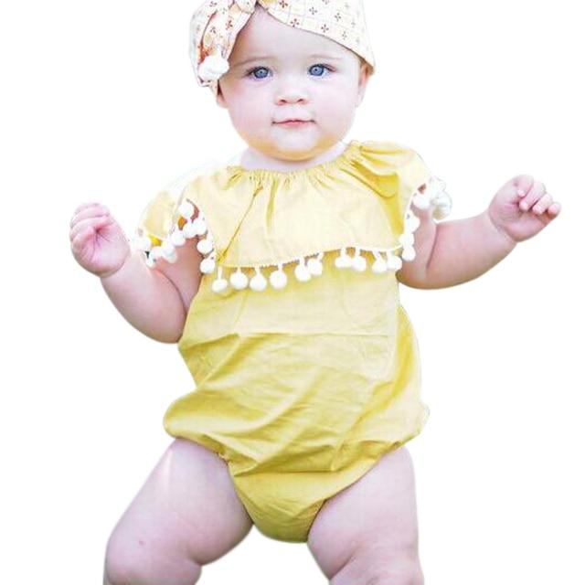 ba3d98a89 ملابس اطفال بنات داخلية الوليد بيبي داخلية الصيف الأطفال الرضع بذلة مثلث  تسلق 100% ٪