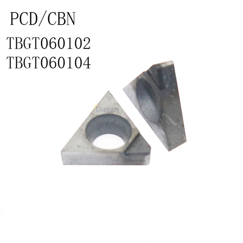 2pcs TCGT110304 CBN diamond carbide inserts turning inserts for steel TCMT