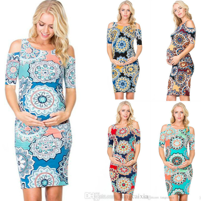 sexy dress pregnant women clothes 2018 womens dress elegant plus size dresses 2019 party vintage floral hollow out cotton in Dresses from Women 39 s Clothing