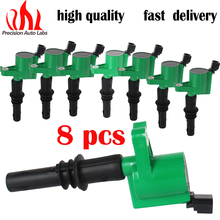 PRECISION AUTO LABS Set de 8 Ignition Coil on Plug Pack Para Ford Lincoln Mercury V8 5.4L 4.6L DG511G(China)