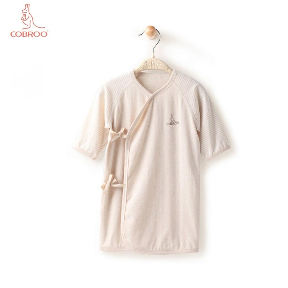 COBROO Baby Solid Color Sleepwear with Belt Closure Baby ...