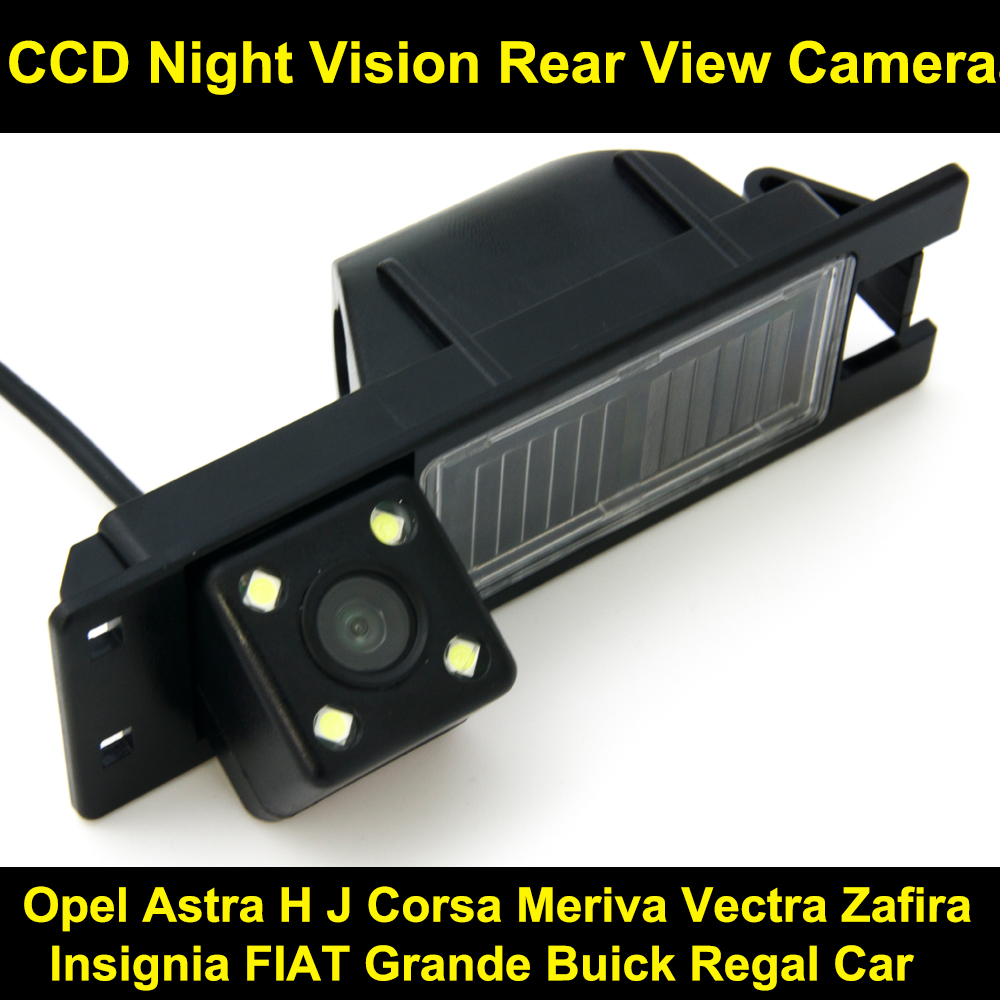 цена на For Opel Astra H J Corsa Meriva Vectra Zafira Insignia FIAT Grande Buick Regal Car Backup Parking Reverse Rear View Camera 8039B