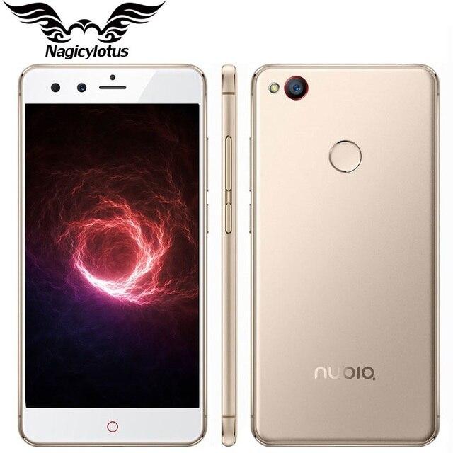 Оригинал ZTE NUBIA Z11 MINI 4G LTE Мобильный телефон Snapdragon 617 64bit Окта основные 3 ГБ RAM 64 ГБ ROM 5.0 дюймов 1920X1080px 16MP камера