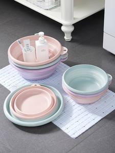 VANZLIFE Plastic Basin Laundry-Tub Portable Travel Household Thickened Large