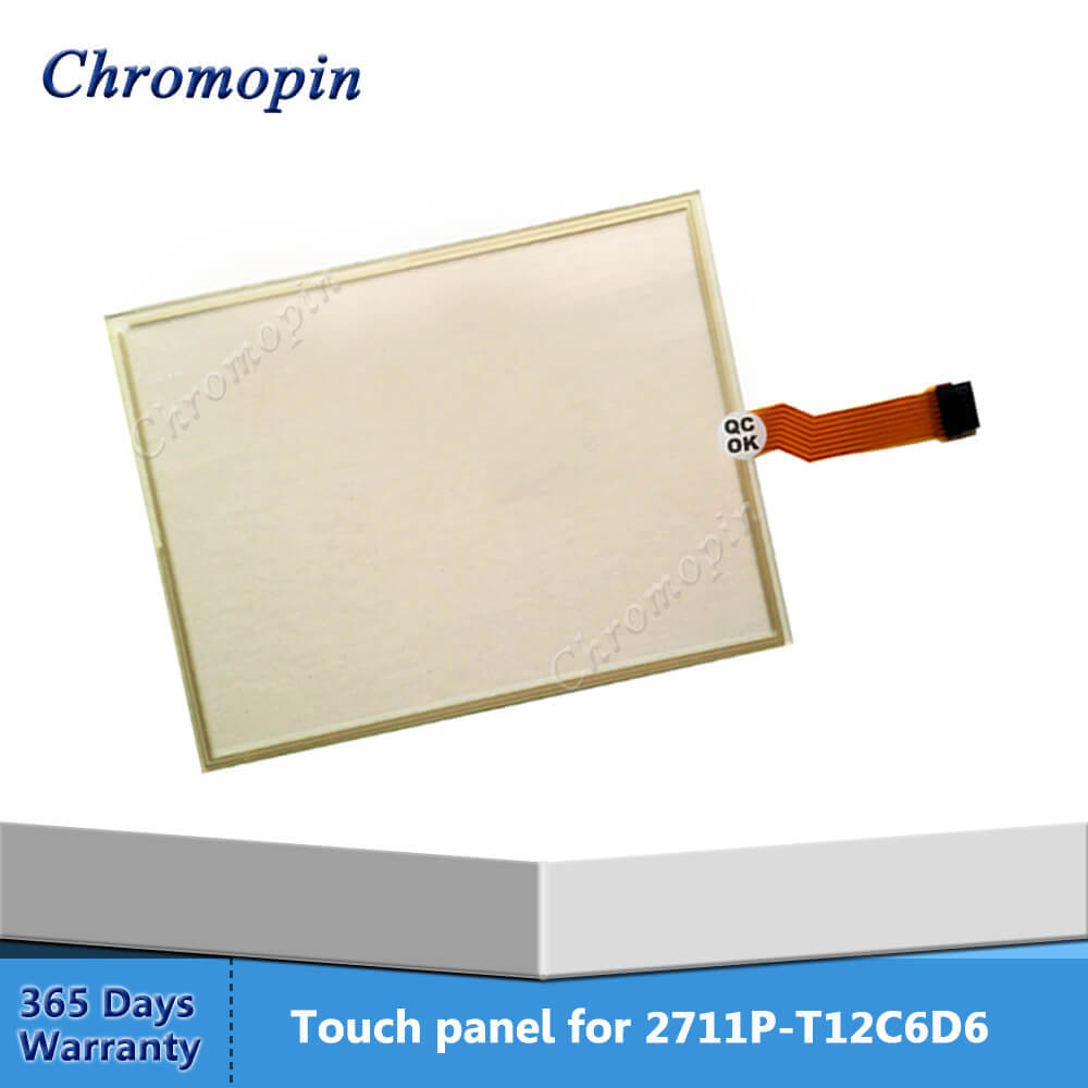 Touch panel screen for AB 2711P-T12C6D6 2711P-T12C4A7 2711P-T12C15D7 2711P-T12C6D7 2711P-T12C6A6 PanelView Plus 1250 new allen bradley 2711p t10c4d1 2711p t10c4d2 touch screen ab panelview 2711p