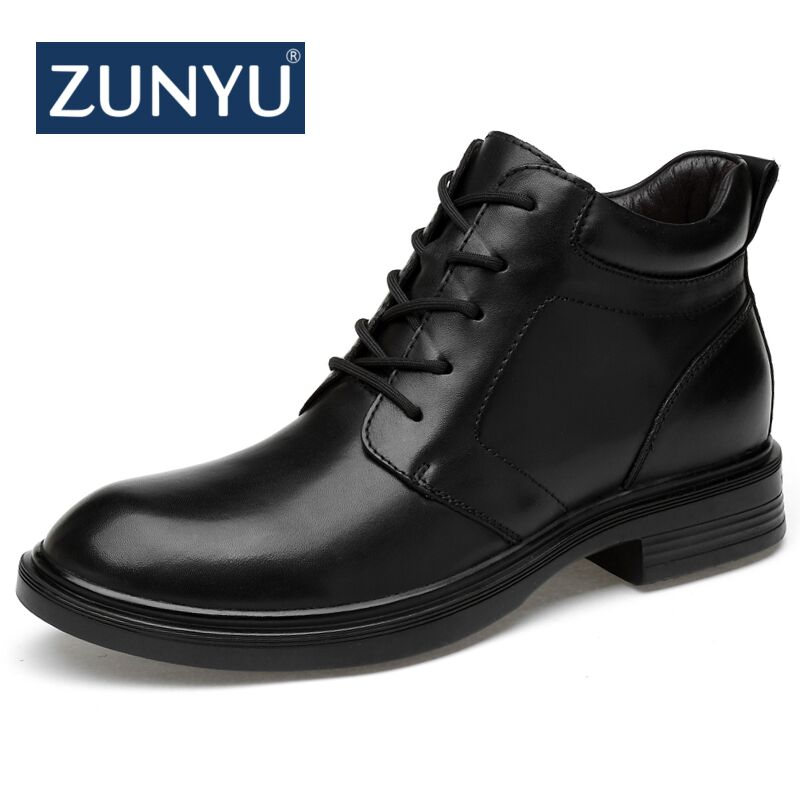 ZUNYU 2018 New Autumn Winter Men Boots Big Size 36-47 For Male Casual Shoes Comfortable Unisex Ankle Keep warm Snow BootsZUNYU 2018 New Autumn Winter Men Boots Big Size 36-47 For Male Casual Shoes Comfortable Unisex Ankle Keep warm Snow Boots