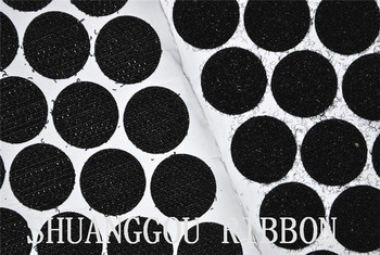 3cm Diameters coins,1000sets , Sticky Backing Fastening Dots. Adhesive hook and loop