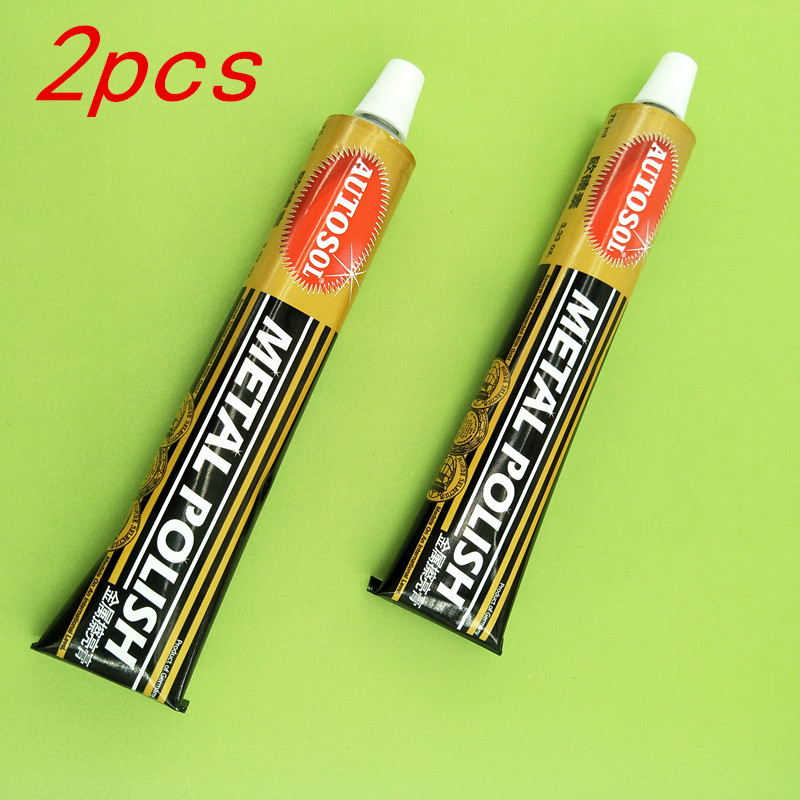 Germany AUTOSOL Metal Polishing Paste Rub Copper Paste Scratch To Rust Repair Stainless Steel Polishing Paste 3pcs 75ml 100g