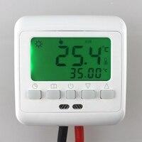 Warm Floor Heating Digital Thermostat Underfloor Temperature Controller Weekly Programmable 3 Colors Optional