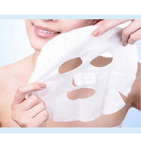 Face Compression Mask 20pcs Nonwoven Fabric Mask Paper Skin Care Dry Disposable Compressed Face DIY Mask for Face Care Face Mask & Treatments