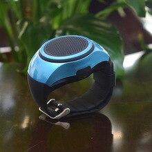 Wrist Portable Watch Wearable Sports Bluetooth Speaker Watch with Multi Function, MP3 Player & FM Radio & Selfie & Anti-lost