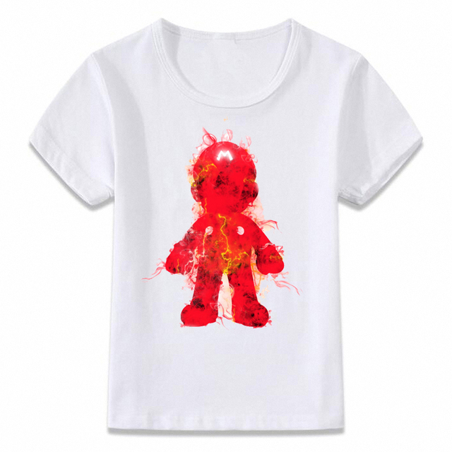 Kids Clothes T Shirt Super Smash Bros Mario Link Star Fox Pikachu Children T-shirt for Boys and Girls Toddler Shirts Tee 3