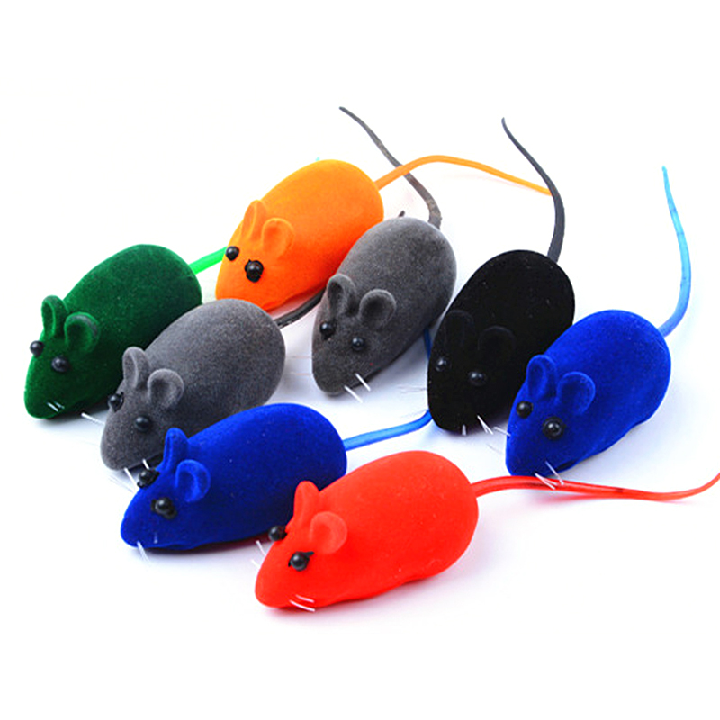 1pcs Little Mouse Cat Toy Realistic Sound Pet Toys Mice For Cats Gatos Toys Mouse Products Gatos Productos Para Mascotas