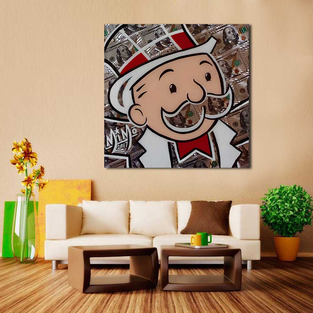 online get cheap live laugh love art aliexpress com alibaba group wang art love laughing kid wall art picture home decor living room modern canvas print painting