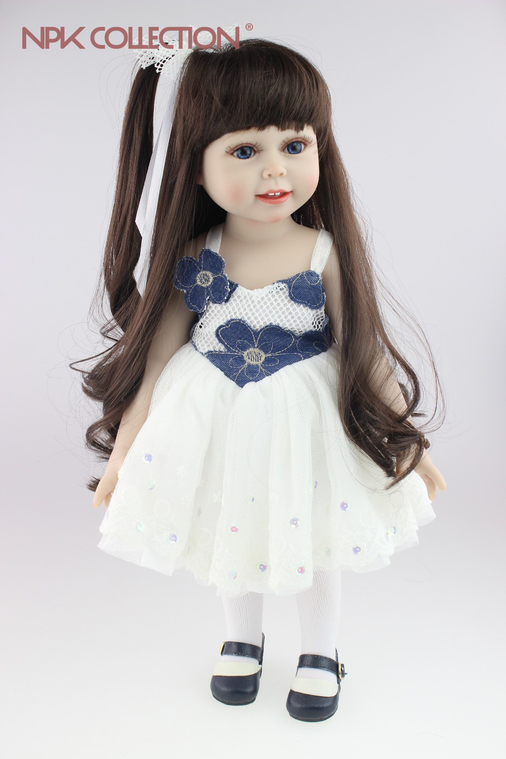 soft gentle touch 18inches American girl doll Journey Girl Dollie& me fashion doll birthday gift toys for girl children 148 type double potentiometer b50k handle length 10mm