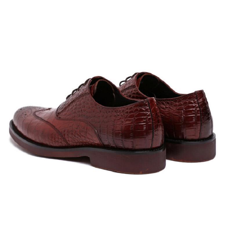 Pé Crocodilo Sapatos Escritório Vestido Preto Homens Formal Lace Do Oxford Casamento De Redondo Preto vermelho Northmarch Couro Marca Vinho Dedo Dos Projeto Up Borracha v4fnqSvwU7