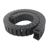 Transmission Chains 25 x 38mm Internal Size 1M Length Mute Plastic Reinforced Nylon Towline Cable Drag Chain