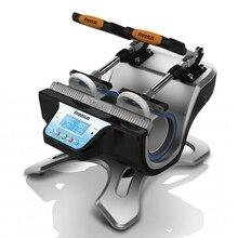 free shipping ST 210 Automatic Mug Press Machine For doing mugs sublimacion phone case heat press