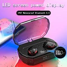 Diamond Bluetooth 5.0 TWS wireless/bluetooth earphones/headphones Microphone wireless Earbuds IPX7 Waterproof headsets/earpiece
