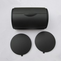 Black Rear Ashtray Bin Ash Tray Side Caps For VW BORA JETTA GOLF 4 MK4 1J0