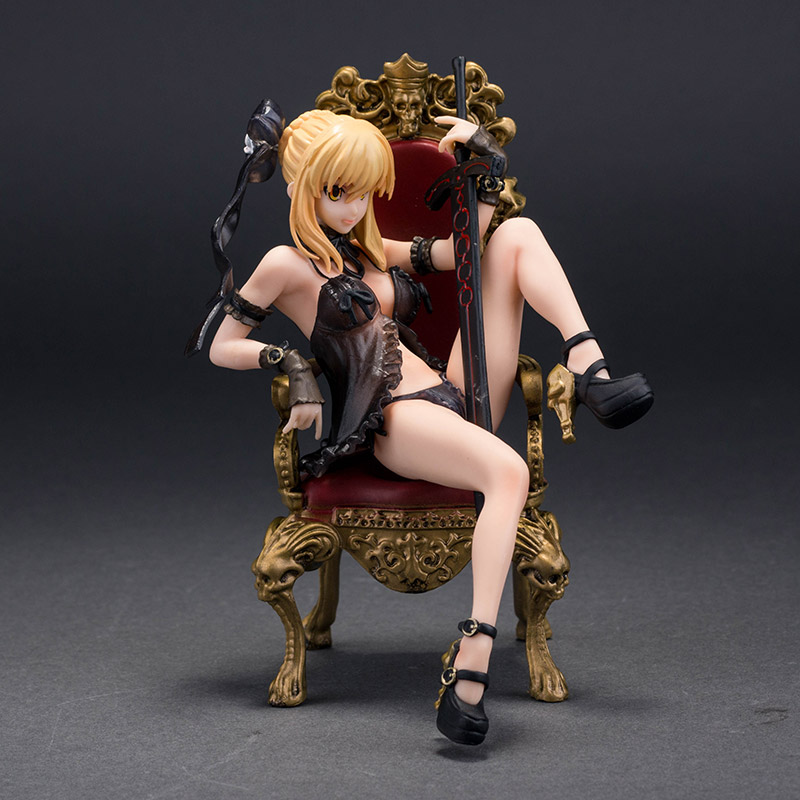 3 Styles Fate/stay Night Action figure Sleeping clothes saber alter bikini 16cm PVC model collection sexy figure doll toy alen new hot fate stay night racing girl black blue white saber throne pajamas action figure toys collection christmas gift doll