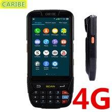 Caribe PL-40L Водонепроницаемый 4 дюймов 4 г прочный android КПК промышленный планшет с большого расстояния RFID считыватель и 1D лазерный сканер