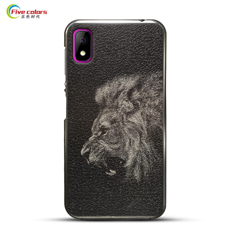 """Fundas Elephone A4 Pro Case Black Hard Plastic Painted Back Cover Protective Phone Cases For Elephone A4 Pro 5.85"""" Mobile Phone"""