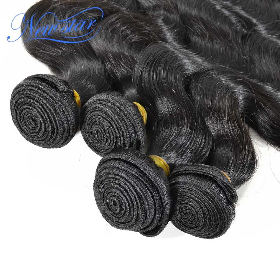 Brazilian Virgin Hair Body Wave 4 Bundles Deal Extension 100%Unprocessed Cuticle Aligned Raw Human Hair Weaving New Star Hair