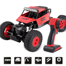 EBOYU K035 RC Car Rock Off-Road Racing Vehicle Crawler Truck 2.4Ghz 4WD High Speed 1:14 Radio Remote Control Buggy Xmas Gift