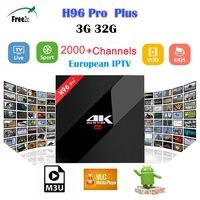 H96 PRO PLUS Android 7 1 TV Box BT4 1 4K Amlogic S912 Octa Core 3G