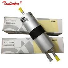 Fuel Filter 16127233840 1Pcs For BMW E81 E82 E87 E88 F20 F21 116i 118i 120i 130i 2010-2019/E90 E91E92 E93 320i 325i 2005-2013 13537589048 fuel injector for b mw 1 3 series 318i 320i 116i 118i 120i 320i n43 petrol injector 7565137