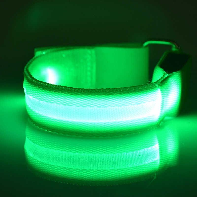 4 قطعة LED الإضاءة الحصان الساق الأشرطة ليلة الحصان معدات ركوب الخيل الحصان الآمن الساق تسخير أحزمة الرياضة في الهواء الطلق الفروسية لوازم