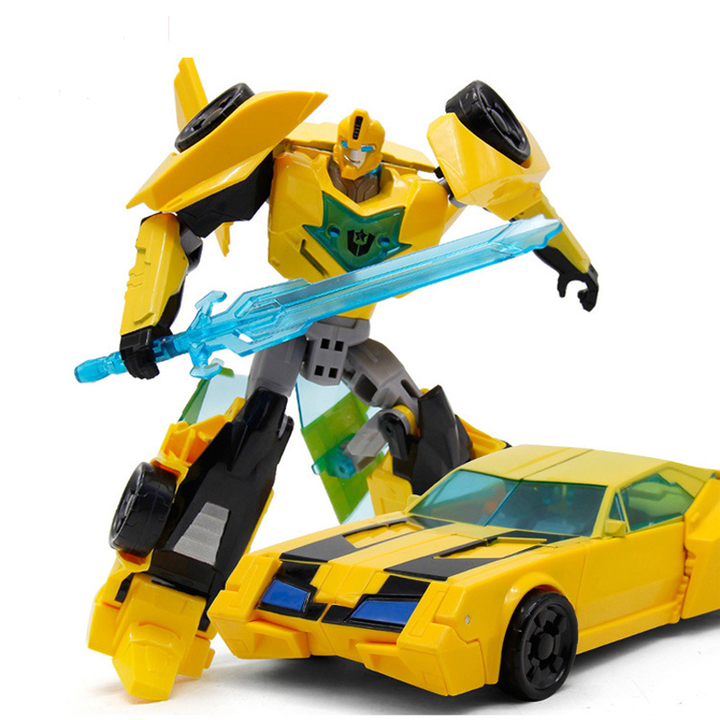 Alloy Transformation Toys For Kid Anime Series Action Figure Robot Car Dinosaur Model Classic Cool Boy Toy Gift image