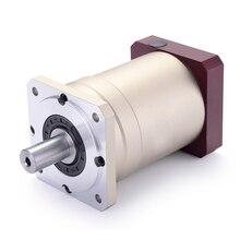 60 двойной brace Spur gear планетарный редуктор 10 аркмин 15:1 до 100:1 для NEMA23 шаговый двигатель входной вал 6,35 мм