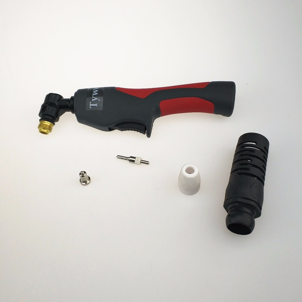 PT-31 Inverter Plasma Cutter Gun 4 M 13ft Kabel 40A Luftgekühlten PT31 Plasma Schneiden Taschenlampe