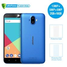Ulefone S7 Pro 2 ГБ  + 16 ГБ  мобильный телефон 5.0 дюймов HD дисплей двойная Камера  MTK6580 4 ядра  Android 7.0 3G WCDMA Смартфон
