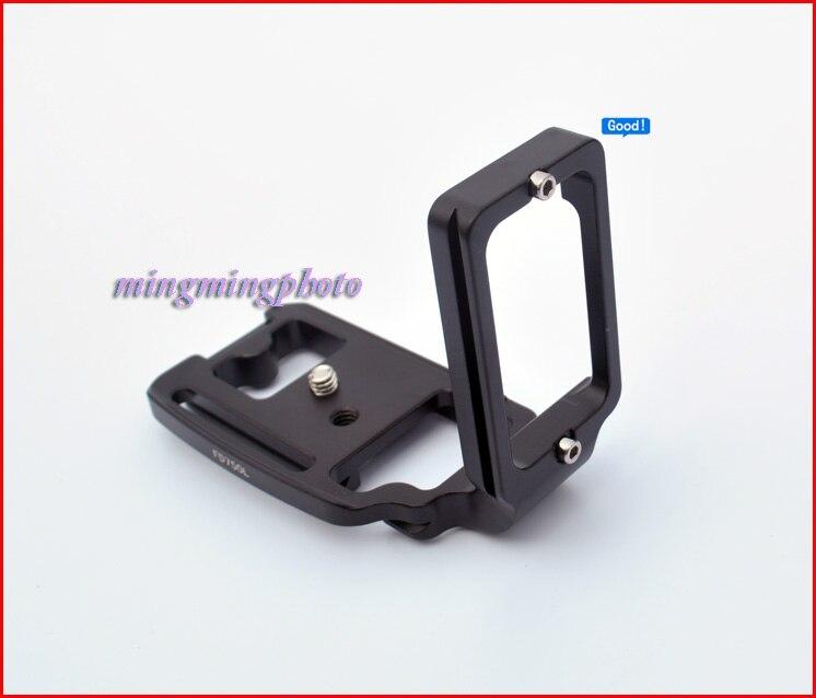 Quick Release Plate QR L Swiss Plate Tripod Bracket for Nikon D750 Arca Swiss RRS Sunwayfoto Tripod