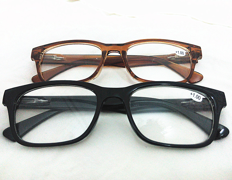9d194e79bc16 Black Brown 2 Colors Big Round Horned Frame Thick Rim Men Womens Reading  Glasses Readers Presbyopia Diopter +1.0 2 3 4.0 1 2 3.5-in Reading Glasses  from ...