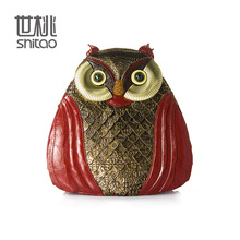 Hand-tailored fashion exquisite retro owl backpack shoulder bag new wave of creative exclusive package