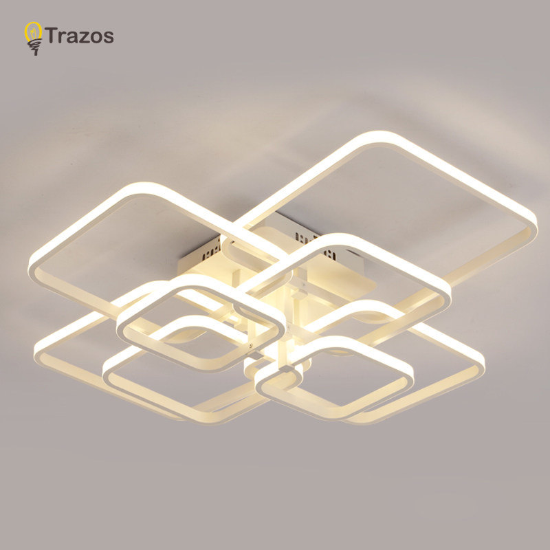 Trazos 2019 Rechteck Acryl Aluminium moderne LED Deckenleuchten für - Innenbeleuchtung - Foto 5