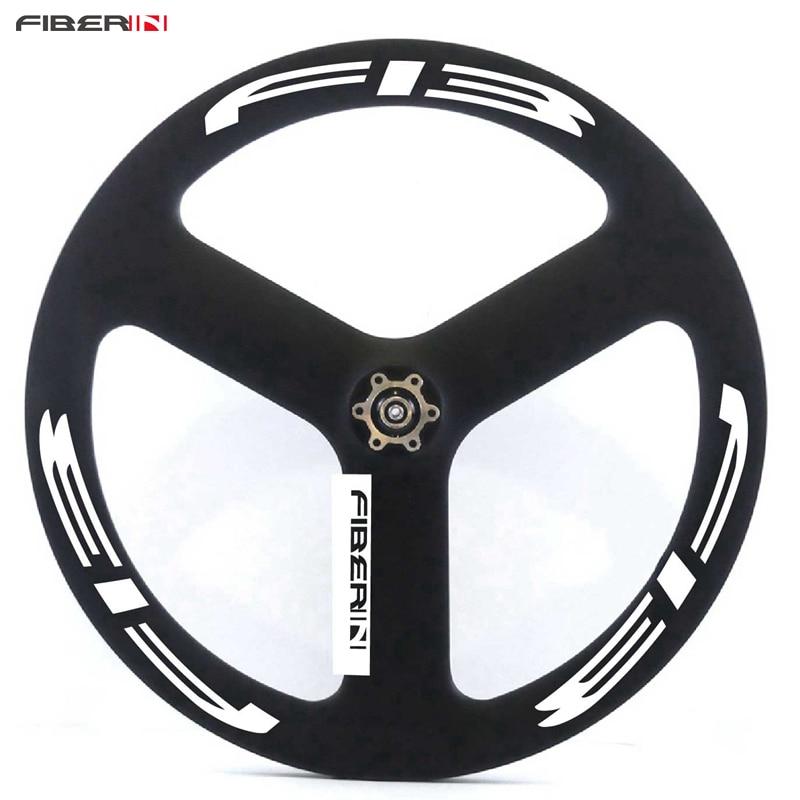 darktec logo 20 Inch BMX 451 Carbon Fixed Gear tri spokes carbon disc 3 Spokes floding