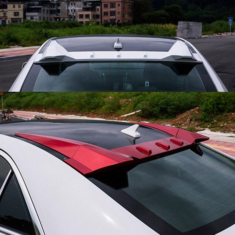 For Cadillac ATS L D3 Spoiler ABS Material Car Rear Wing unpaint Color Rear Spoiler For Cadillac ATS Spoiler 2013 2017