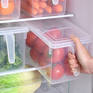 Kitchen Transparent PP Storage