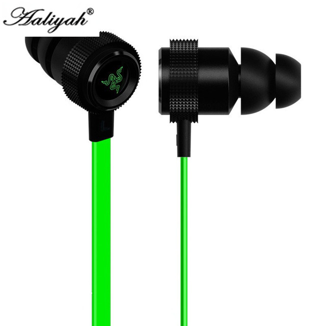 Aaliyah HOT gaming headset for Razer Hammerhead V2 Pro earphone wiht mic Noise isolation stereo deep bass for fone de ouvido